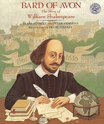 william shakespeare s works bard of avon the story of william shakespeare by stanley diane