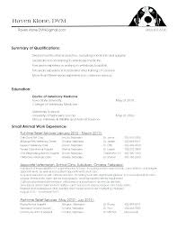 Veterinary Technician Resume Sample Veterinary Technician Resume
