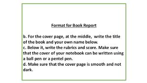 Cover Page Book Report Rome Fontanacountryinn Com