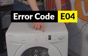 How to Fix an E04 Error Code on a Hoover Washing Machine ...