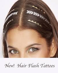 Metallic Gold Hair Tattoos Pack Sivalya
