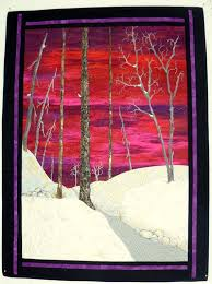 348 best Art quilts images on Pinterest | Projects, Colors and ... & Red Dawn is an original Art Quilt. It is pieced and appliqued with some  thread Adamdwight.com