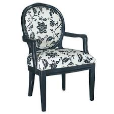 black and white accent chair pretty fl pattern print occasional chairs black fl full