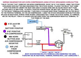 wiring diagram for air horns using stock grounded horn button wiring diagram for air horns using stock grounded horn button