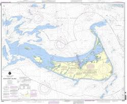 Boat Charts Online Details About Noaa Nautical Chart 13241 Nantucket Island