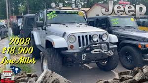 Jeep Lights For Sale 2008 Jeep Wrangler Sahara Lifted On Generals With Kc Lights For Sale Review Carolina 4x4s