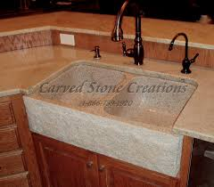 Granite Kitchen Sink Elegant Natural Stone Kitchen Sink Designs