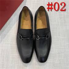 Mens Designer Dress Shoes Luxury Mens Designer Luxury Brands Men Dress Monk Shoes Custom Handmade Shoes Genuine Calf Leather Black Business Leather Dress Shoes Yyyyd Loafers