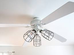 replace ceiling light cage
