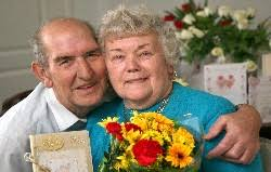 Golden moment for anniversary couple   The Northern Echo