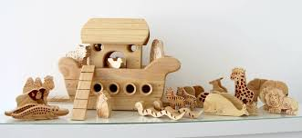 handmade natural wood noah s ark boat by like to play