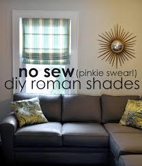 instructions no sew pinkie swear roman shades