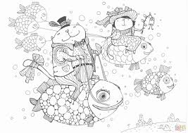Santa With Rudolph Coloring Pages Inspirational Coloring Pages