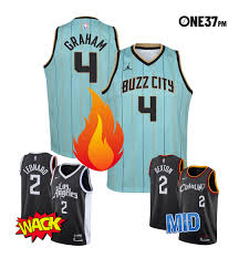 Authentic charlotte hornets jerseys are at the official online store of the national basketball association. Ranking The 2021 Nba City Edition Jerseys One37pm