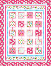 Quilting Treasures lief! Lifestyle fabrics – Ivory Spring & Girl_Quilt_high res Adamdwight.com