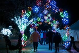 Oakland Zoo Lights 2014 Where To See Christmas Lights In Metro Detroit