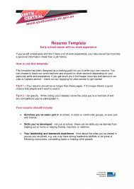 How To : How To Write A Resume For Teens