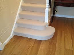 Laminate Hall Flooring, Carpeted Stairs