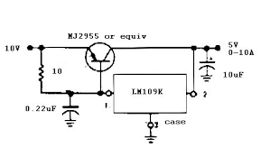 5 v 10 a regulator1 jpg lm7805 circuit diagram lm7805 image about wiring diagram 446 x 270