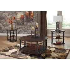 Table Sets For Living Room Brayden Studio Dube 3 Piece Coffee Table Set Reviews Wayfair