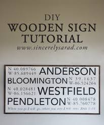 diy large wooden sign silhouette machine