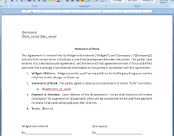 It Statement Of Work Generate A Statement Of Work Agreement From Base Crm Deal Webmerge