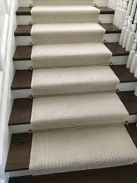 wool stair runner. Delighful Stair Using Wall To New Zealand Wool Carpet We Fabricated Into A Stair  Runner For Client In Newport Beach CA  Stair Rods Add Nice Touch Throughout Runner G