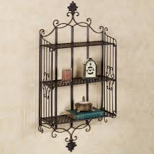 wall art shelf home decor  full size of vintage wrought iron wall decor metal scroll wall decor
