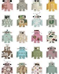 Robot Behang Van Studio Ditte Klein En Stoer