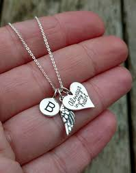 <b>Memorial</b> Necklace, Sterling Silver Necklaces for women, Sympathy ...