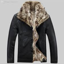 fall winter clothing leather mens jacket men s rac fur coat fur lined leather jacket mens sheepskin coats plus size m 5xl uk 2019 from fullcolor