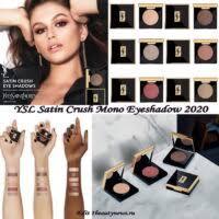 Новые моно-<b>тени для век</b> YSL <b>Satin</b> Crush Mono Eyeshadow 2020 ...