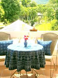 patio patio table cloth round tablecloth best of and amazing outdoor tablecloths promotion for