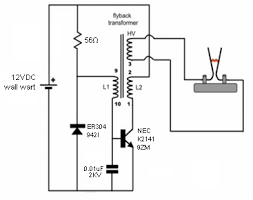 help wiring a flyback transformer page 4 laser pointer forums help wiring a flyback transformer schematic png