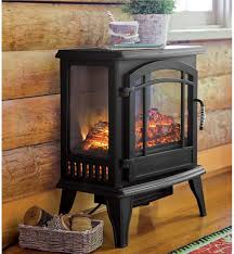 Clement Black Convertible Media Infrared Fireplace  Electric Infrared Fireplace Heater