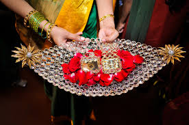 Gift Tray Decoration Decorative Trays For Engagement Chittara engagement decoration 28