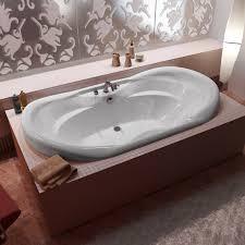... Bathtubs Idea, Drop In Whirlpool Tub Whirlpool Tubs Indul White Soaker:  amazing drop in ...