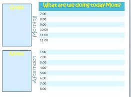 Summer Daily Schedule Template Cream And Green Leaves Summer Class Schedule Template Sample Camp