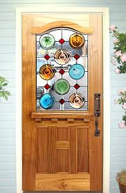 stained glass for front door this unique x mahogany country french door was custom designed with stained glass for front door
