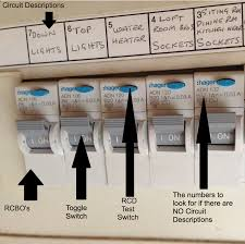 Rcd Tripping When Lights Turned On Guides And Advice Electrical Safety Help Bright Spark