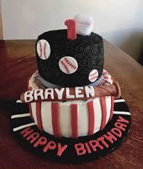 Baseball Theme Cakes Kidsbirthdaycakewithyeargq