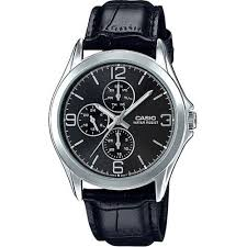 mtp v301l 1a black casio men 039 s watches casio analog leather specifications