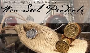 wax seal charms by rqp studio