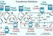 480v to 208v 3 phase transformer wiring diagram step up 208 480 down