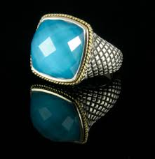 andrea candela turquoise ring