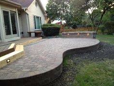 Raised paver patio Retaining Wall Patio In Naperville Il Patios Hardscapes Photo Gallery Pinterest 19 Best Raised Patio Images Raised Patio Backyard Patio Diy