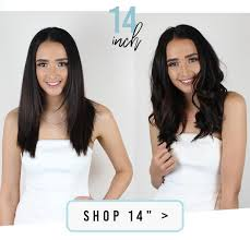 Straight Vs Curly Extension Length Guide Zala Clip In Hair