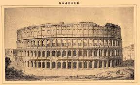 Чудо света амфитеатр Колизей в Италии Чудеса света колизей фото