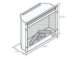 electric fireplace dimensions dimensions pleasant hearth grayson electric fireplace dimensions electric fireplace
