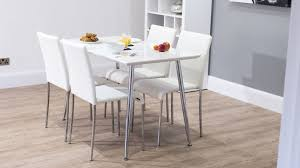 4 6 seater white dining set uk delivery